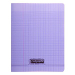 Calligraphe 8000 Polypro Cahier 96 pages 17 x 22 cm seyes grands carreaux Violet