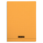 Calligraphe 8000 Polypro Cahier 96 pages 21 x 29.7 cm petits carreaux Orange