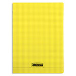 Calligraphe Cuaderno 8000 Polypro 96 páginas 21 x 29.7 cm cuadrados pequeños Amarillo