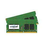 Crucial SO-DIMM DDR4 16 Go (2 x 8 Go) 2400 MHz CL17 SR X8