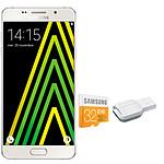 Samsung Galaxy A5 2016 Blanc + Carte microSDHC 32 Go