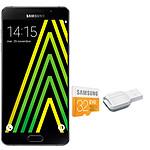 Samsung Galaxy A5 2016 Noir + Carte microSDHC 32 Go