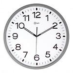 Orium Horloge murale aimantée silencieuse Argent