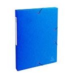 Exacompta boites de classement Exabox dos 25 mm Bleu x 8