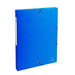 Exacompta Exabox cajas de archivo 25 mm atrás 25 mm Azul x 8