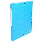 Exacompta boites de classement Exabox dos 25 mm Turquoise x 8