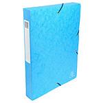 Exacompta boites de classement Exabox dos 40 mm Turquoise x 8