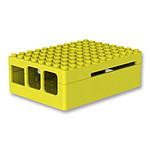 Multicomp Pi Blox boitier pour Raspberry Pi 1 Model B Pi 2 3 Yellow