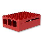 Multicomp Pi-Blox boitier pour Raspberry Pi 1 Model B+ / Pi 2/3 (rouge)