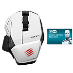 Mad Catz Office R.A.T. M (RAT M) White + ESET Multi-Device Security OFFERT !