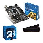 Kit Upgrade PC Core i3 MSI H110M PRO-D 8 Go