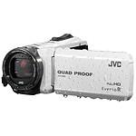 JVC GZ-R415 Blanc + Carte SDHC 8 Go