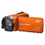 JVC GZ-R415 Orange + Carte SDHC 8 Go