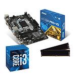 Kit Upgrade PC Core i3 MSI H110M PRO-VD 8 Go