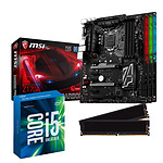 Kit Upgrade PC Core i5 MSI Z170A GAMING PRO CARBON 8 Go