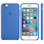 Apple Coque en silicone Bleu Royal Apple iPhone 6s Plus