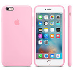 Apple Coque en silicone Rose Apple iPhone 6s Plus