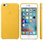 Apple Coque en cuir Or Apple iPhone 6s Plus