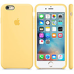 Apple Coque en silicone Jaune Apple iPhone 6s
