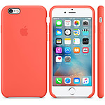 Apple Coque en silicone Abricot Apple iPhone 6s