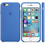 Apple Coque en silicone Bleu Royal Apple iPhone 6s