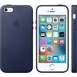 Apple Funda de piel Apple Azul Apple iPhone SE