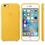 Apple Coque en cuir Or Apple iPhone 6s