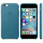 Apple Coque en cuir Bleu Marine Apple iPhone 6s