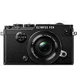 Olympus PEN-F 14-42mm Kit Zoom Pancake Noir/Noir