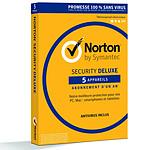 Norton Security Deluxe - Licence 1 an 5 postes