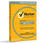 Norton Security Premium - Licence 1 an 10 postes