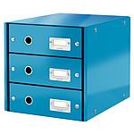 Leitz Bloc de classement à tiroirs Leitz Click & Store Bleu