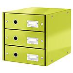 Leitz Bloc de classement à tiroirs Leitz Click & Store Vert
