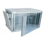 Dexlan coffret réseau - fixe - largeur 19'' - hauteur 6U - profondeur 60 cm - charge utile 60 kg - coloris gris