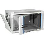 Dexlan coffret réseau - fixe - largeur 19'' - hauteur 9U - profondeur 60 cm - charge utile 60 kg - coloris gris