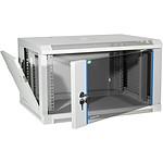 Dexlan coffret réseau - fixe - largeur 19'' - hauteur 15U - profondeur 60 cm - charge utile 60 kg - coloris gris