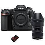 Nikon D500 + Sigma 18-35 mm F1,8 DC HSM ART + SanDisk Ultra microSDXC 200 Go