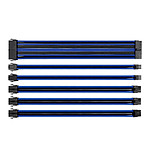 Thermaltake TtMod Sleeve Cable (Extension Câble Tressé) - Bleu et Noir