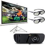 ViewSonic Pro7827 HD + PJ-SCT-1000W + 2 paires de lunettes 3D