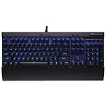 Corsair Gaming K70 LUX Blue LEDs AZERTY Noir - Switches Cherry MX Red