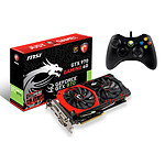 MSI GeForce GTX 970 GAMING 4G 4 Go + Manette Microsoft XBOX 360