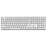 Ducky Channel One (coloris blanc - MX Brown - touches PBT)