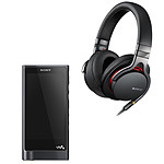 Sony NW-ZX2 + MDR-1A Noir