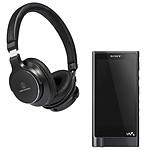 Sony NW-ZX2 + Audio-Technica ATH-SR5 Noir