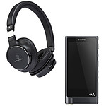 Sony NW-ZX2 + Audio-Technica ATH-SR5BT Noir