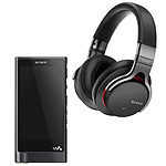 Sony NW-ZX2 + MDR-1ABT Noir