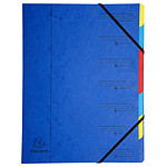 Exacompta Clasificador 7 teclas Azul