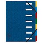 Exacompta Harmonika Trieur à fenêtres 7 touches Bleu