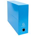 Exacompta Iderama Boite de transfert pelliculée dos 90 mm Bleu clair
