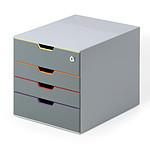 DURABLE Module de classement Varicolor Safe 4 tiroirs 7606-27